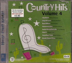House Party Karaoke: Country Hits Vol 4